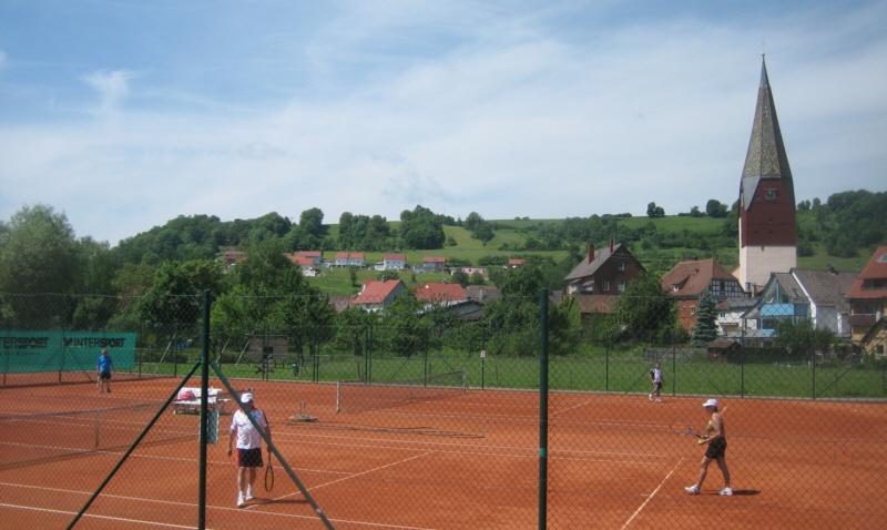 IZweites Spiel der Tennis-Herren