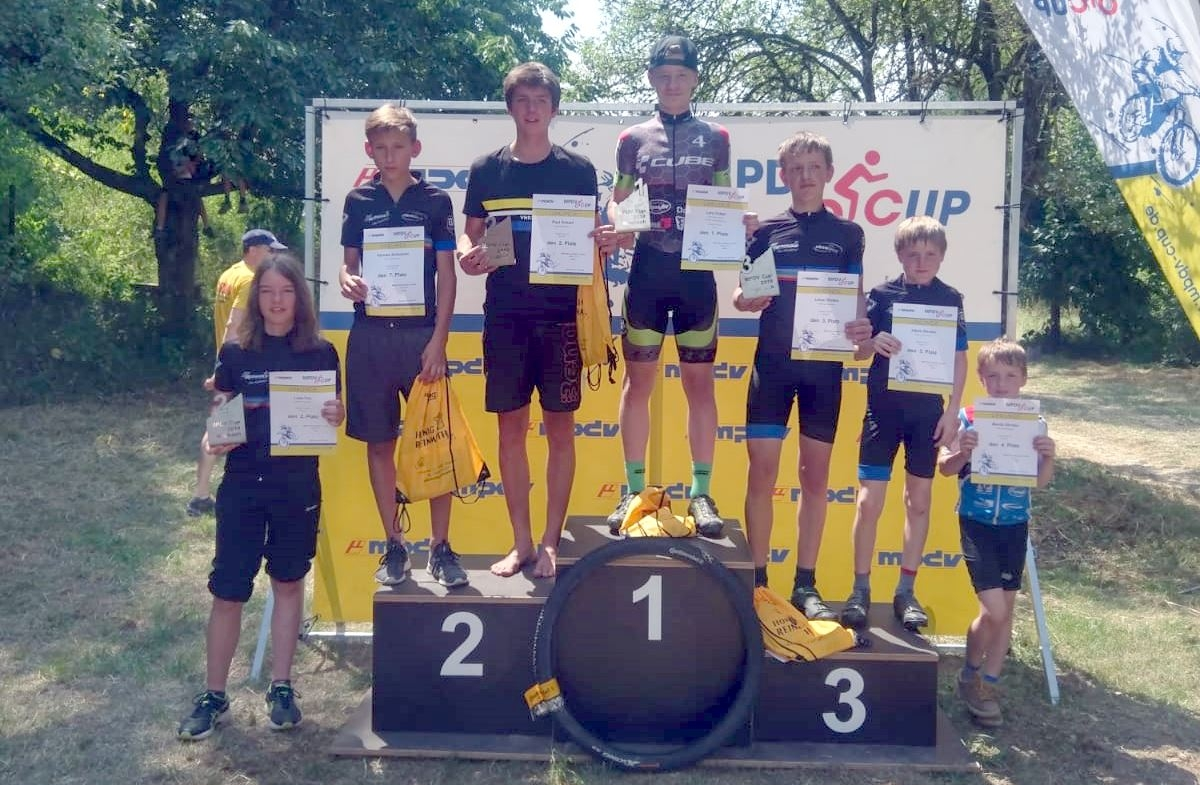 IVolles Podest beim MPDV CUP in Mosbach