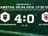 2. Sieg im 2. Heimspiel für TURA-Senioren