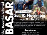 Ski-/Board- und Fahrradbasar am 10.11.2018